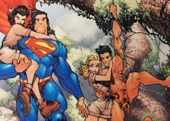 Competencia de lectura entre Superman y Tarzán; la complicada vida del superhéroe 9