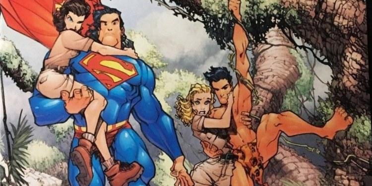 Competencia de lectura entre Superman y Tarzán; la complicada vida del superhéroe 1