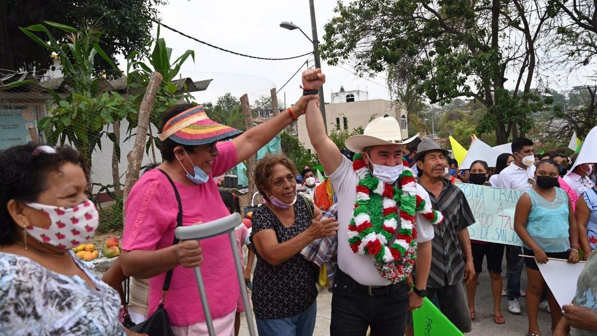 Ricardo Taja llama a votar 4 de 4 por los candidatos de la coalición PRI-PRD en Acapulco 1