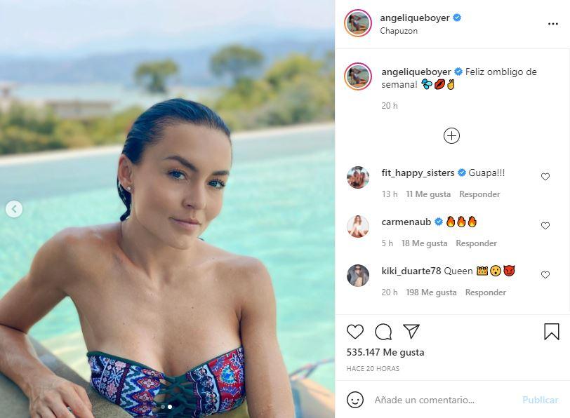 Angelique Boyer deleita a sus fans desde la piscina   FOTOS 3