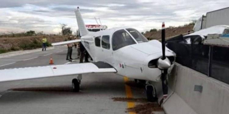 Avioneta aterriza de emergencia en Jalisco por falla técnica 1