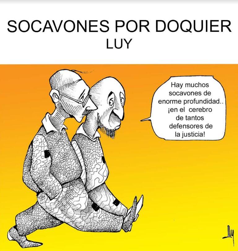 Socavones por doquier | Luy 6
