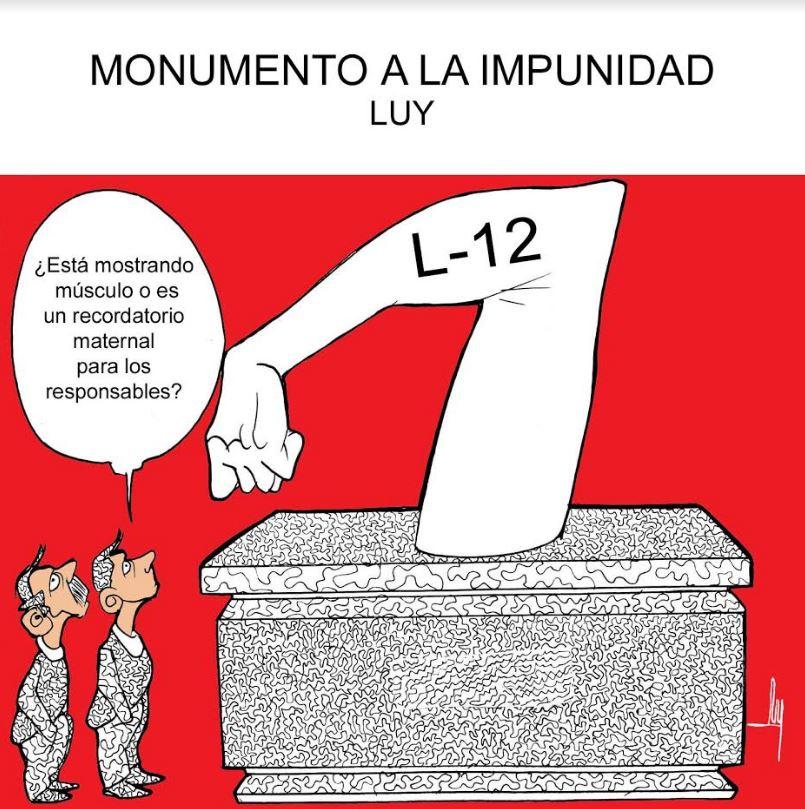 Monumento a la impunidad   Luy 6