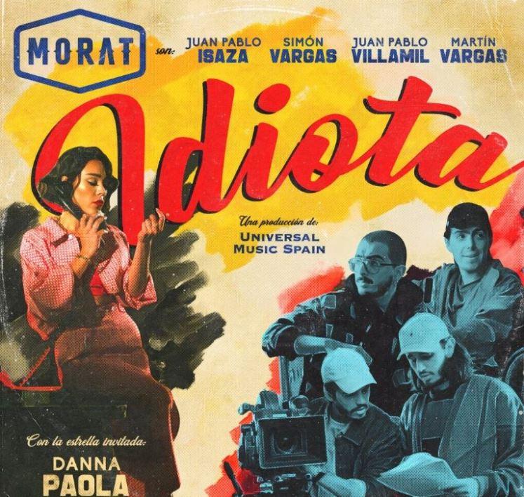 """Danna Paola adelante una """"pizca"""" de """"Idiota"""" con Morat   VIDEO 1"""
