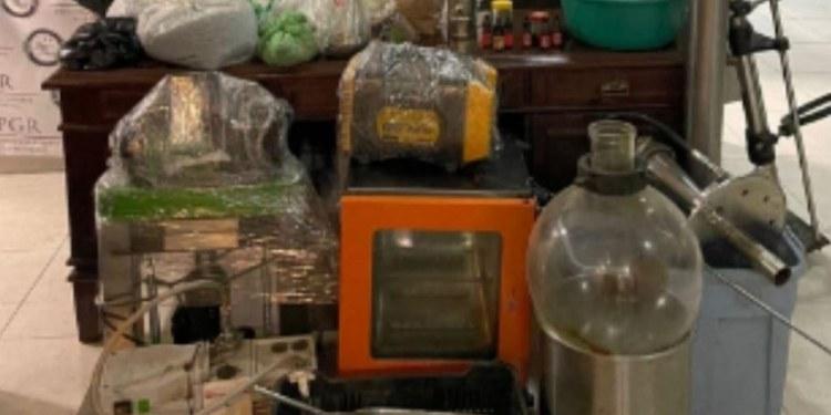 FGR asegura drogas, armas e hidrocarburos robados en 57 cateos 1