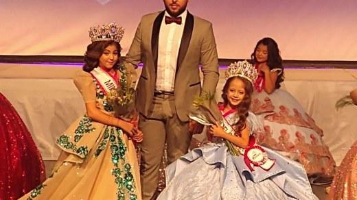 """Con traje de """"Doncella Chinela"""" gana niña morelense el concurso """"Mini México 2021"""" 4"""