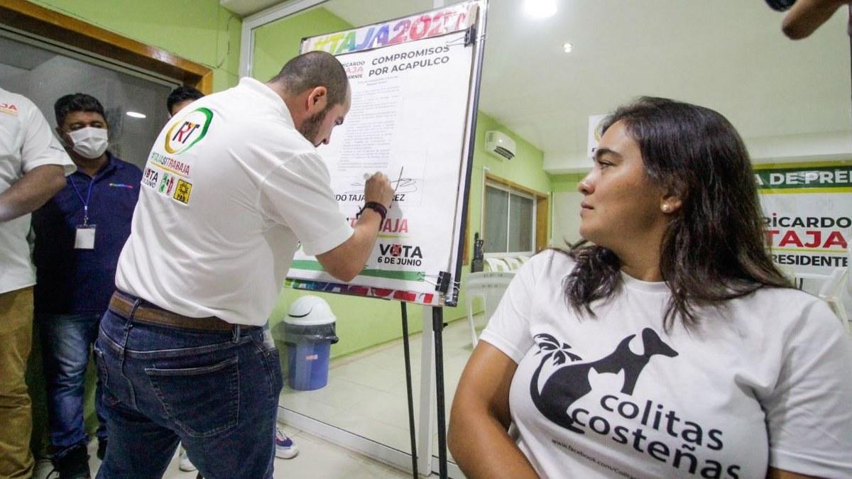 Respaldan a Ricardo Taja sociedades de protección animal en Acapulco 1