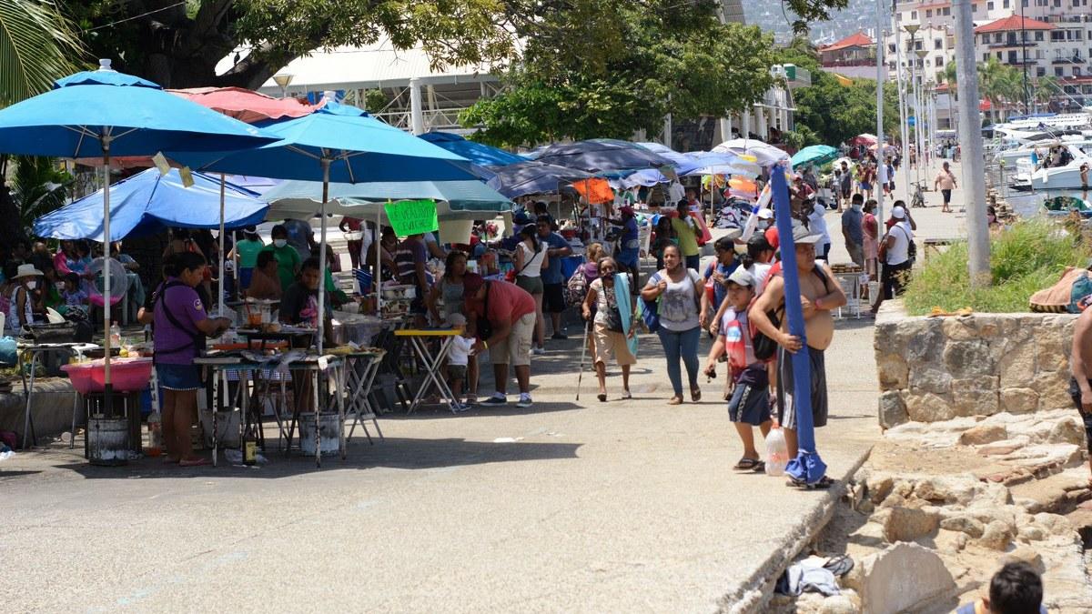 ¿Cuál Covid? Turistas atiborran playas de Acapulco; la mayoría sin cubrebocas   Fotos 3