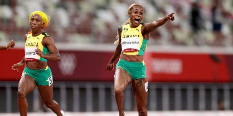 La jamaicana Elaine Thompson-Herah hace historia; conquista oro en 100 metros femenil 1