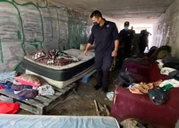 Chilpancingo: desalojan túnel pluvial que usaban para drogarse y acosar a mujeres 3