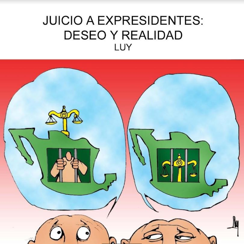 Juicio a expresidentes: deseo y realidad | Luy 3
