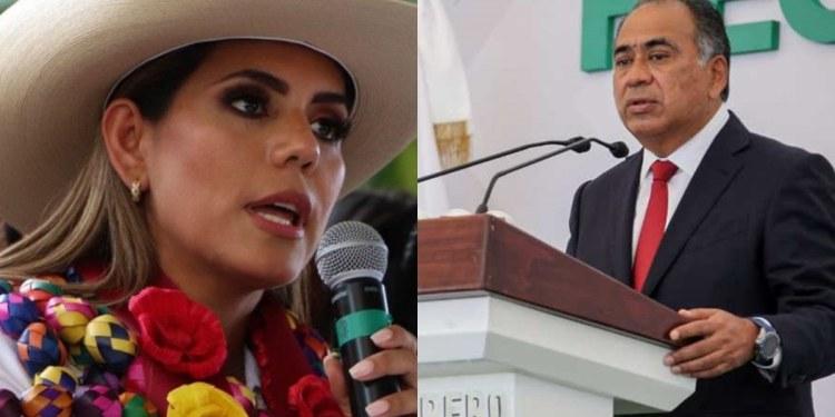 Astudillo reconoce a Evelyn como gobernadora de Guerrero; habrá acercamiento, dice 1