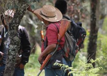 """Policías comunitarios """"peinan"""" Chilapa en busca de sicarios de """"Los Ardillos"""" 5"""