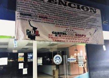 Cartel del Golfo anuncia tregua en Tamaulipas; buscarán 'trabajar' en paz, dicen en mantas 4