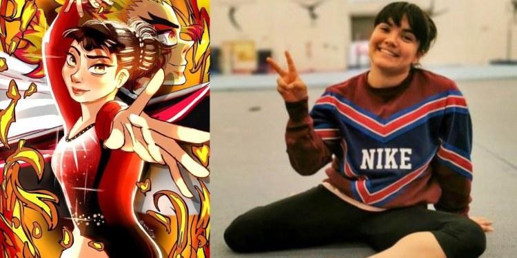 La gimnasta mexicana Alexa Moreno protagoniza un manga 1