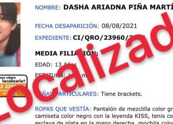 Localizan con vida en Guerrero a niña desaparecida de Querétaro 3
