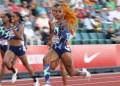 La tecnología abajo de los pies de velocistas como Elaine Thompson-Herah en Tokio 2020 44