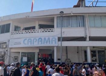 Toman CAPAMA vecinos de la zona poniente de Acapulco cansados del desabasto de agua 5