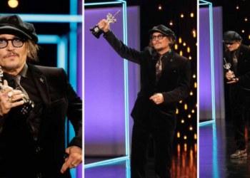 Johnny Depp recibe Premio Donostia con ovación en el Festival de Cine de San Sebastián 4