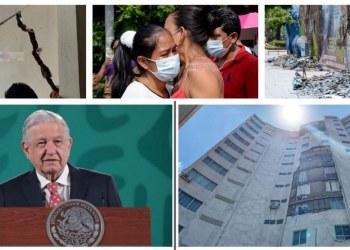AMLO reconoce daños por terremoto en Guerrero; ordena censo del Bienestar 8
