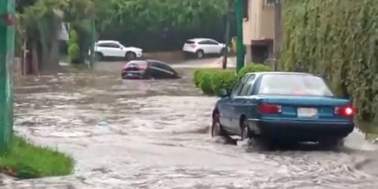 Intensas lluvias inundan y dejan sin luz a varios municipios en Morelos 1