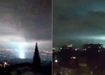 ¿Viste las luces en el cielo durante el sismo de 7.1?; la NASA explica 11