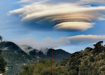 Captan rara nube lenticular en el cielo de San Cristóbal de las Casas, Chiapas 4