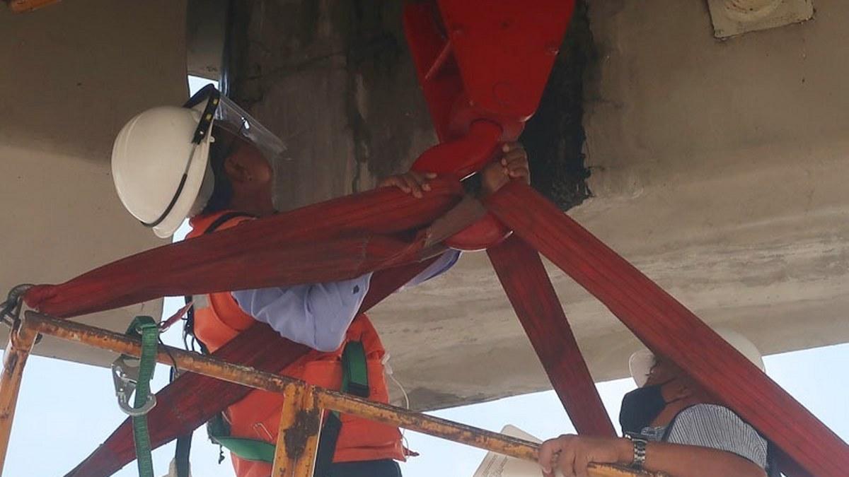 Revisan posibles fallas en el distribuidor vial Emiliano Zapata, en Cuarnavaca 1
