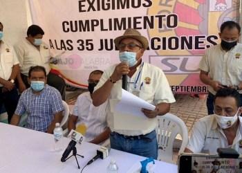 Adela incumple con jubilaciones en Capama; aumentó 100 mdp la deuda con el ISSSPEG, denuncian 4