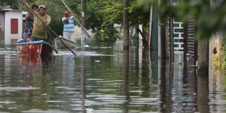 Tabasco, en alerta ante aumento de nivel en ríos por fuertes lluvias 1
