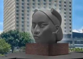 Tlali, la escultura que sustituiría a Cristóbal Colón en Paseo de la Reforma 5