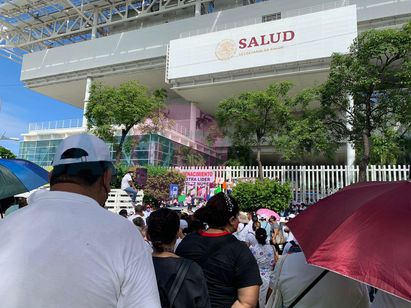 Acapulco: sector Salud exige a la Ssa pago de prestaciones de la Federación y del Estado 1