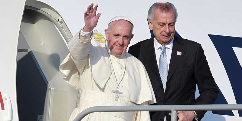 No resignarse ante la violencia, pide el Papa Francisco en Michoacán