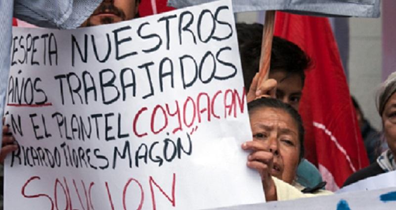 Trabajadoras de intendencia presentan demanda ante JLCyA