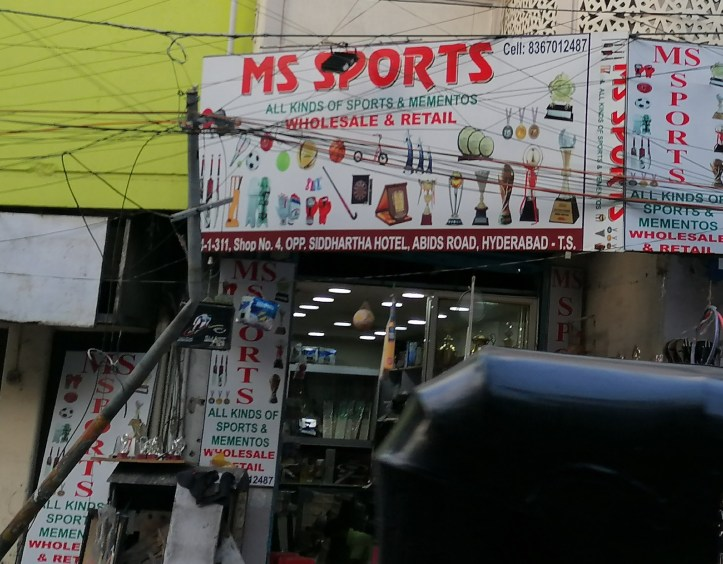 MS sports abids hyderabad