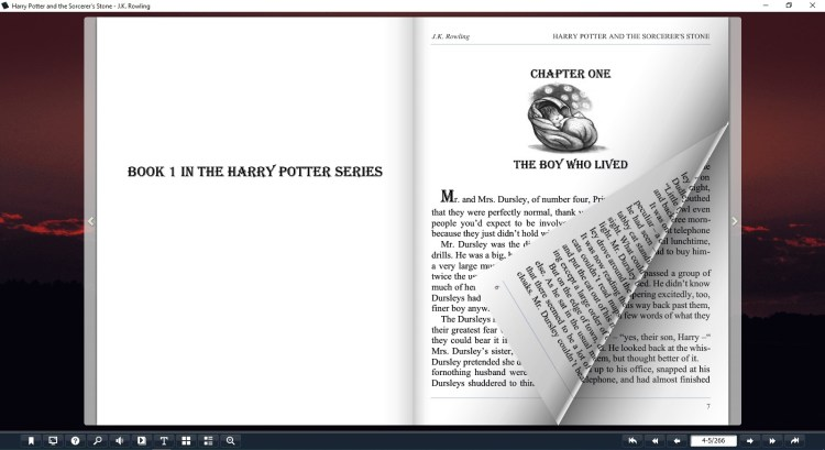 Harry Potter And The Sorcerer's Stone Book - Flip Image 2