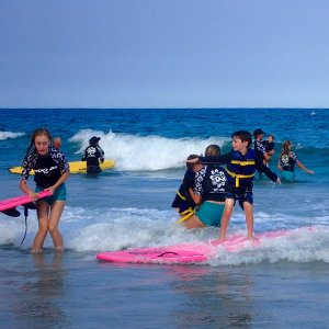 Indo Jax Childhood Cancer Surf Camp