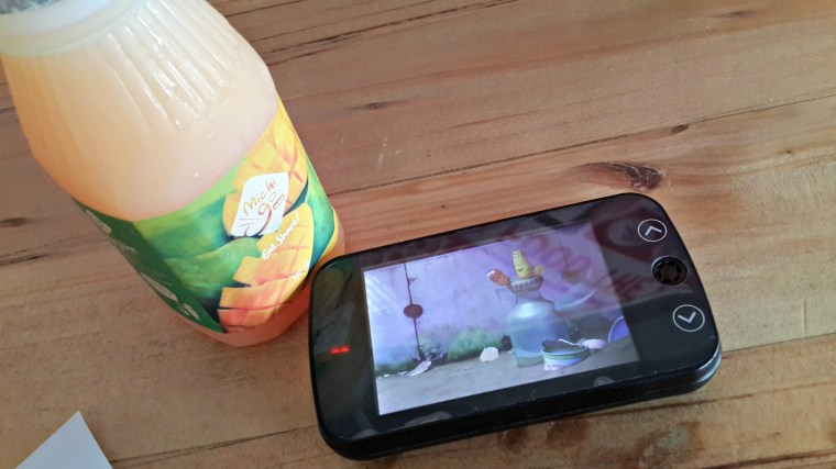 Mango Juice + video pager