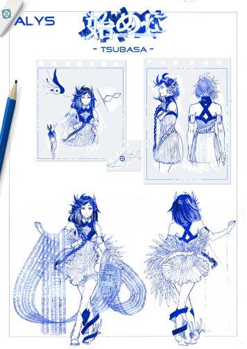 ALYS Tsubasa Concept Art by Tatsuki