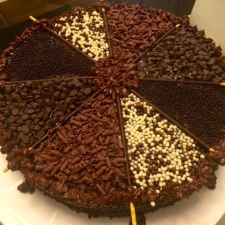 Receita de Bolo de Chocolate