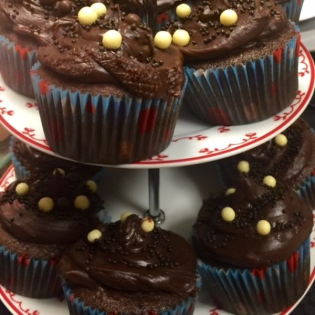 Cupcakes de Chocolate - Receita
