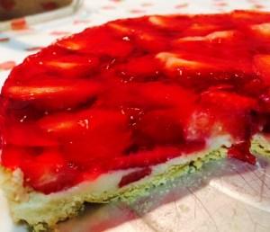 Torta de Morango Perfeita Bake and Cake - Receita
