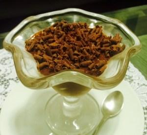 Mousse de chocolate facil