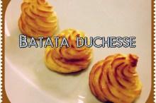 Batata Duchesse - Acompanhamento Facílimo