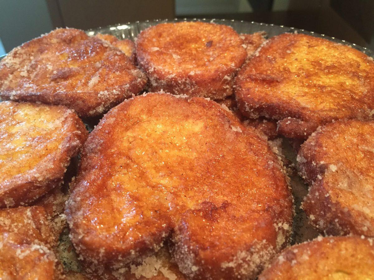 Receita de rabanada - direto #fundodobau - tradicional e deliciosa.