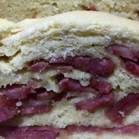 Pão de Linguiça Calabresa - Receita