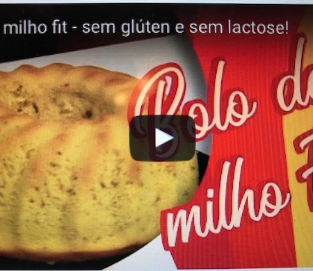 Video Bolo de milho fit
