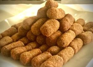 Croquete de Carne - receita de croquete de carne Bake and Cake