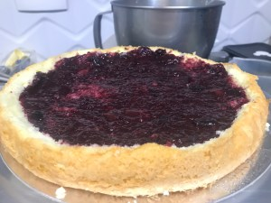 Montagem de bolo