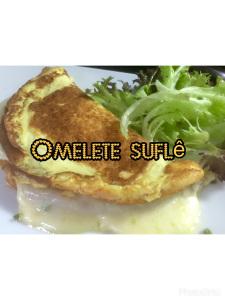 Omelete Suflê Recheada e Assada